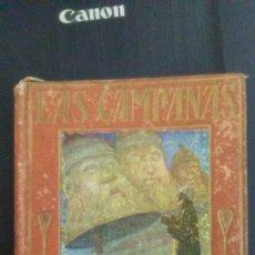 Libros antiguos: 1932 LIBRO LAS CAMPANAS CARLOS DICKENS COLECCION ARALUCE ILUSTRACIONES F DE MYRBACH. Lote 128114535