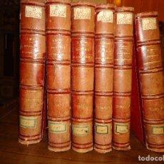 Libros antiguos: HISTORIA CONTEMPORÁNEA. SEGUNDA PARTE DE LA GUERRA CIVIL. 6 VOL. PIRALA,ANTONIO. MADRID 1892-1895. Lote 128115299
