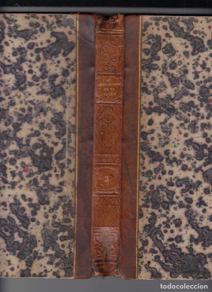 Libros antiguos: JAIME BALMES: EL PENSAMIENTO DE LA NACIÓN. PERIÓDICO RELIGIOSO, POLÍTICO Y LITERARIO. MADRID, 1845. - Foto 2 - 128212875
