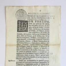 Libros antiguos: DON PHELIPE, POR LA GRACIA DE DIOS REY DE CASTILLA ... SABED QUE POR NUESTRA REAL PERSONA... . Lote 128213723