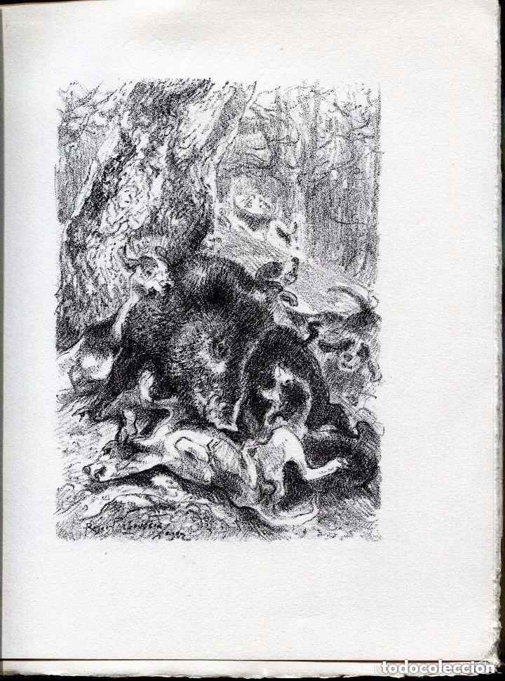 Libros antiguos: LES GENTILSHOMMES CHASSEURS--MARQUIS DE FOUDRAS- CAZA CINEGETICA- 1932. RARO - Foto 4 - 128237119
