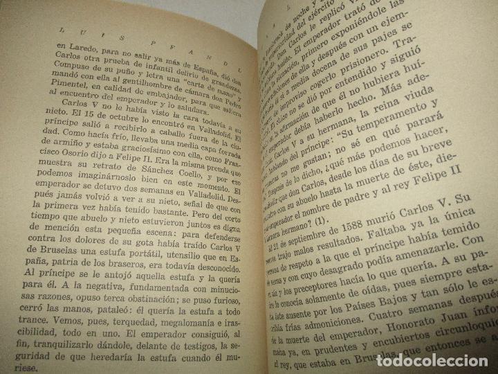 Libros antiguos: JUANA LA LOCA. Su vida, su tiempo, su culpa. - PFANDL, Luis. 1932. - Foto 5 - 123230243