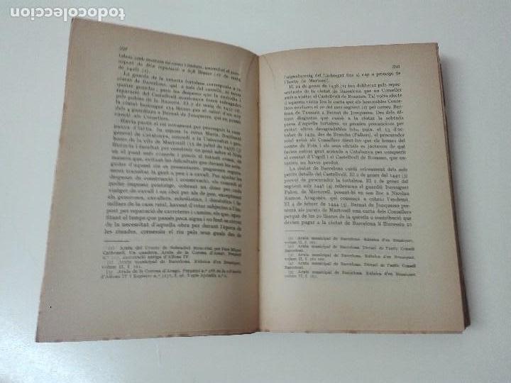 Alte Bücher: Historia de la baronia de Castellvell de Rosanes Buenaventura Pedemonte 1929 - Foto 3 - 128284567