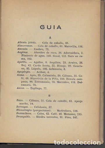 Libros antiguos: Remedios caseros. Todos a base de hierbas / M. Romeu Guimerá. BCN, 1935. Tapa dura. 17x12cm. 128 p. - Foto 4 - 128363751