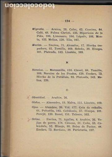 Libros antiguos: Remedios caseros. Todos a base de hierbas / M. Romeu Guimerá. BCN, 1935. Tapa dura. 17x12cm. 128 p. - Foto 5 - 128363751