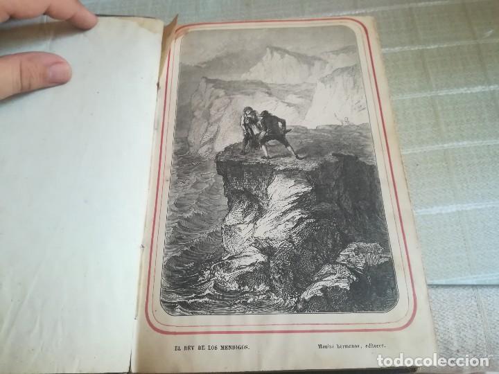 Libros antiguos: EL REY DE LOS MENDIGOS O LOS BANDIDOS DE LA BEAUCE. MR HIPOLITO LANGLOIS. 1859 - Foto 3 - 128422531