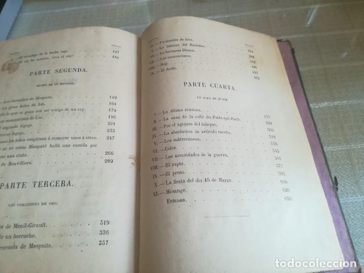 Libros antiguos: EL REY DE LOS MENDIGOS O LOS BANDIDOS DE LA BEAUCE. MR HIPOLITO LANGLOIS. 1859 - Foto 13 - 128422531
