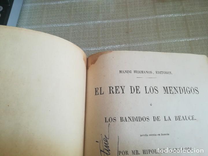 Libros antiguos: EL REY DE LOS MENDIGOS O LOS BANDIDOS DE LA BEAUCE. MR HIPOLITO LANGLOIS. 1859 - Foto 15 - 128422531