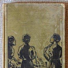Libros antiguos: MANUAL DEL CARPINTERO EBANISTA. F. CALVO Y M. GARCÍA. ESCUELAS SALESIANAS, 1929. Lote 128600143