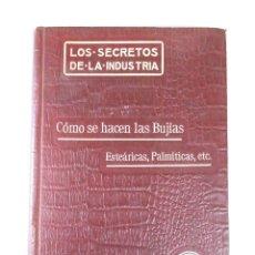 Libros antiguos: CÓMO SE HACEN LAS BUJÍAS, (ISAAC J. BROCÁ), FELIU Y SUSANNA, 1911. Lote 128623255