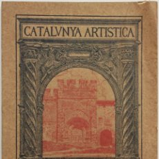 Libros antiguos: CATALUNYA ARTÍSTICA. MONESTIR DE SANTES CREUS. VOLUM II. - [REVISTA.] TODA, EDUART.. Lote 123270827