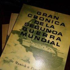 Libros antiguos: GRAN CRONICA DE LA SEGUNDA GUERRA MUNDIAL. Lote 128669291