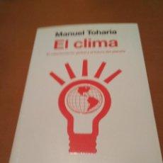 Libros antiguos: EL CLIMA . Lote 128671143