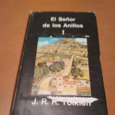 Libros antiguos: EL SEÑOR DE LOS ANILLOS I-II-III. Lote 128671583