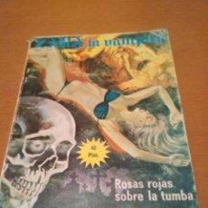 Libros antiguos: ZARA LA VAMPIRO ROSAS ROJAS SOBRE LA TUMBA . Lote 128672735