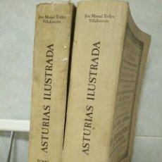 Libros antiguos: ASTURIAS ILUSTRADA. ORIGEN DE LA NOBLEZA DE ESPAÑA, SU ANTIGUEDAD Y DIFERENCIAS. DOS TOMOS.. Lote 128673767