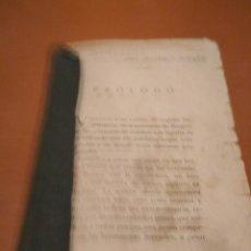 Libros antiguos: AVENTURAS DEL BURRO JUDAS. Lote 128674135