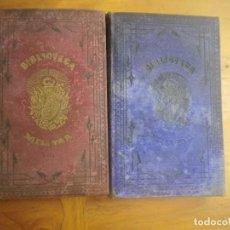 Libros antiguos: BIBLIOTECA MILITAR TOMO X SEPTIEMBRE 1877 TOMO XIII DICIEMBRE 1877 VER FOTOS . Lote 128716215