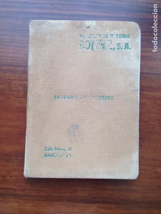 CATALOGO DE TUBERÍAS 1933 MATERIALES Y TUBOS BONNA SA (Libros Antiguos, Raros y Curiosos - Ciencias, Manuales y Oficios - Otros)