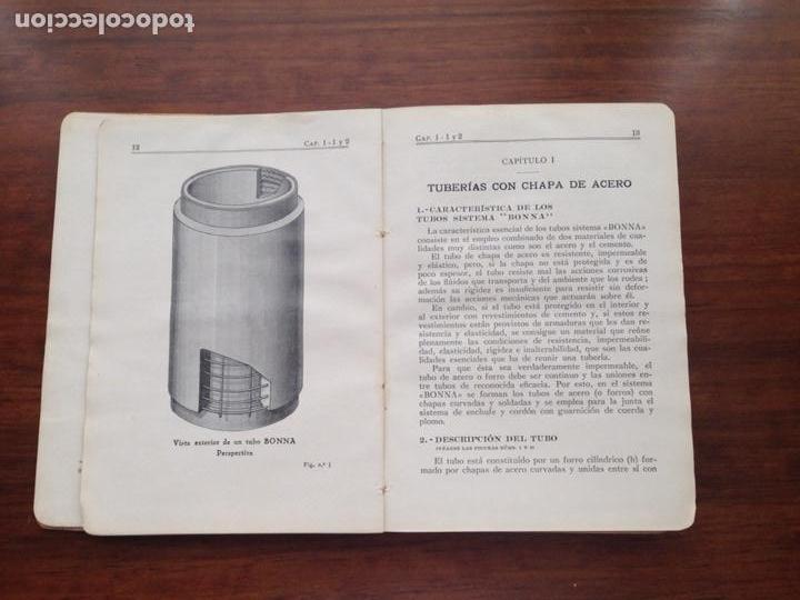 Libros antiguos: Catalogo de Tuberías 1933 Materiales y Tubos Bonna SA - Foto 2 - 128727650