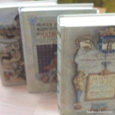 Libros antiguos: E TOMOS DE MADRID -RICARDO SEPULVEDA. Lote 128796643