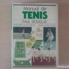 Libros antiguos: MANUAL DE TENIS. PAUL DOUGLAS. Lote 128811507