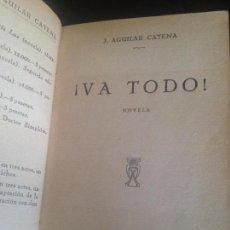 Libros antiguos: VA TODO-J.AGUILAR CATENA,1929. Lote 128819343