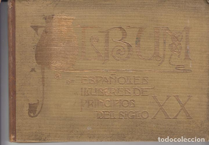 ALBUM DE ESPAÑOLES ILUSTRES DE PRINCIPIOS DEL SIGLO XX BLANCO Y NEGRO 1903 A 1904 (Libros Antiguos, Raros y Curiosos - Historia - Otros)