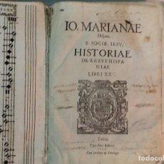 Alte Bücher - HISTORIAE DE REBUS HISPANIAE LIBRI XX - 128885563