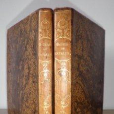 Libros antiguos: BELLEZAS DE LA HISTORIA DE CATALUÑA - AÑO 1853 - VICTOR BALAGUER - MONUMENTAL OBRA.. Lote 128898811