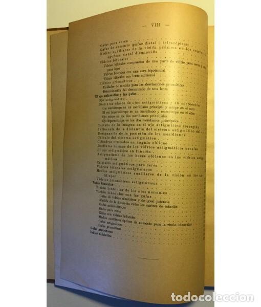 Libros antiguos: INTRODUCCIÓN AL ESTUDIO DE LOS ANTEOJOS - Foto 6 - 128901843