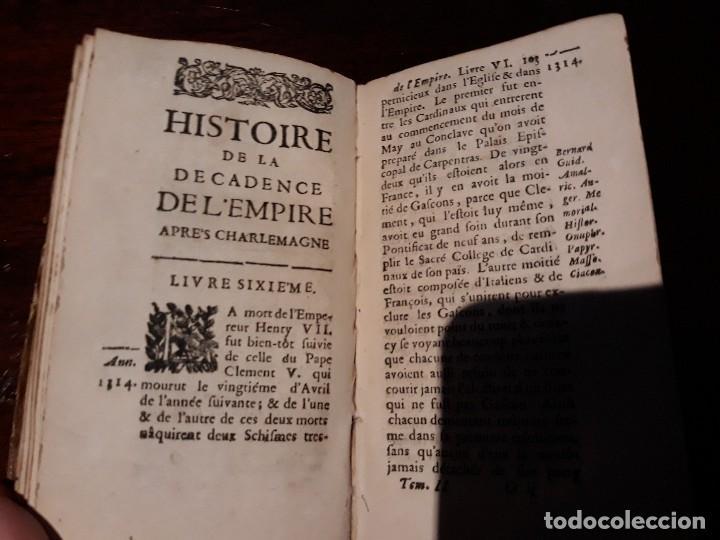 Libros antiguos: HISTOIRE DE LA DECADENCE DE L EMPIRE APRES CHARLEMAGNE . SECOND DE PARTIE- PARIS AÑO 1679 - Foto 3 - 128951119
