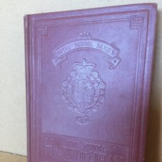 Libros antiguos: 187L678 THE ROYAL HISTORY OF ENGLAND (PT 1/6). 1905. ROYAL SCHOOL SERIES. WITH MAPS & ILLUSTRSTIONS. Lote 128975518