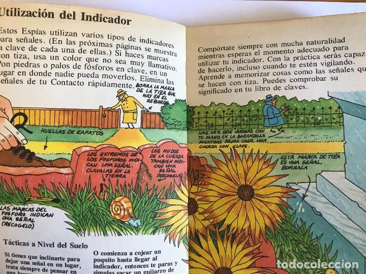 Libros antiguos: GUIA DEL BUEN ESPIA MENSAJES SECRETOS PLESA SM 1979 - Foto 3 - 179017082