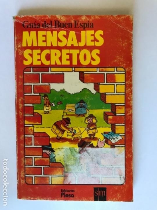 GUIA DEL BUEN ESPIA MENSAJES SECRETOS PLESA SM 1979 (Libros Antiguos, Raros y Curiosos - Literatura Infantil y Juvenil - Otros)