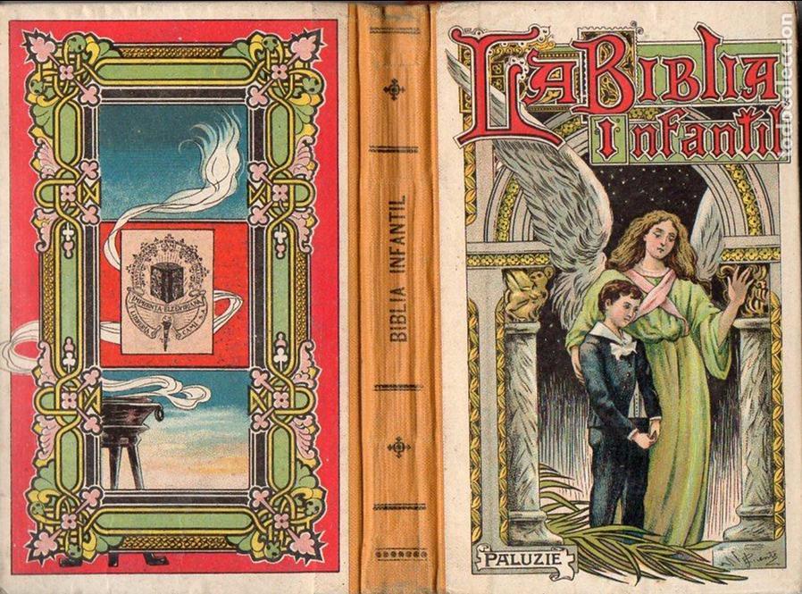 BULDÚ Y CARDERERA: LA BIBLIA INFANTIL PALUZIE (ELZEVIRIANA CAMÍ, 1934) (Libros Antiguos, Raros y Curiosos - Literatura Infantil y Juvenil - Otros)