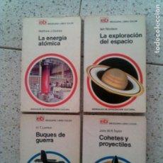 Libros antiguos: LOTE DE LIBROS EB , BRUGUERA -LIBRO COLOR NUMEROS ,16,9,3,23 AÑOS 70. Lote 129041203