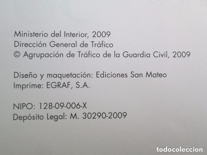 Libros antiguos: LIBRO: GUARDIA CIVIL DE TRAFICO. (1959 - 2009) 50 ANIVERSARIO. MINISTERIO DEL INTERIOR. COMO NUEVO. - Foto 5 - 129100735