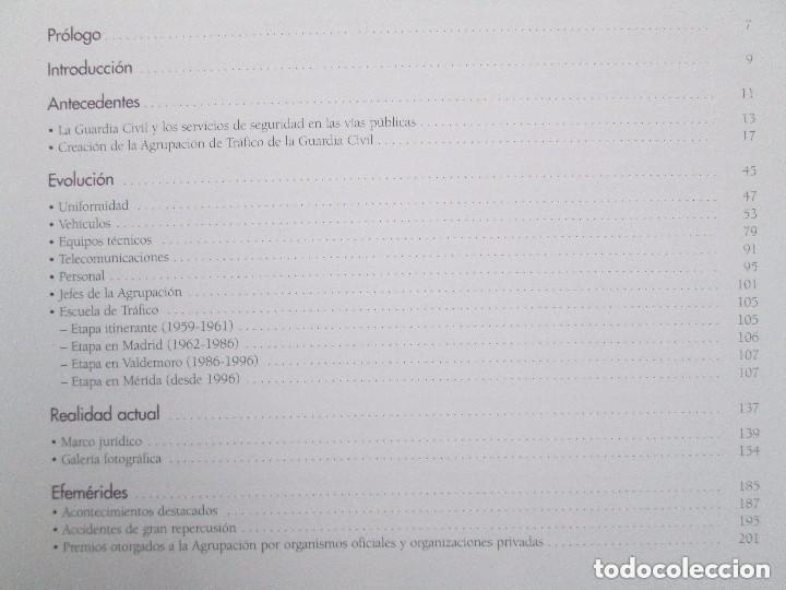 Libros antiguos: LIBRO: GUARDIA CIVIL DE TRAFICO. (1959 - 2009) 50 ANIVERSARIO. MINISTERIO DEL INTERIOR. COMO NUEVO. - Foto 6 - 129100735