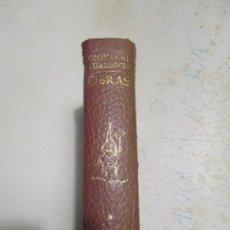 Libros antiguos: OBRAS DE GIOVANNI GUARESCHI PLAZA Y JANES 1971 TOMO I DON CAMILO. Lote 129117807