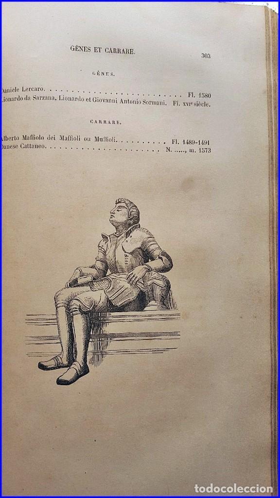 Libros antiguos: AÑO 1869: LOS ESCULTORES ITALIANOS. 2 ELEGANTES TOMOS DEL SIGLO XIX - Foto 7 - 129132691