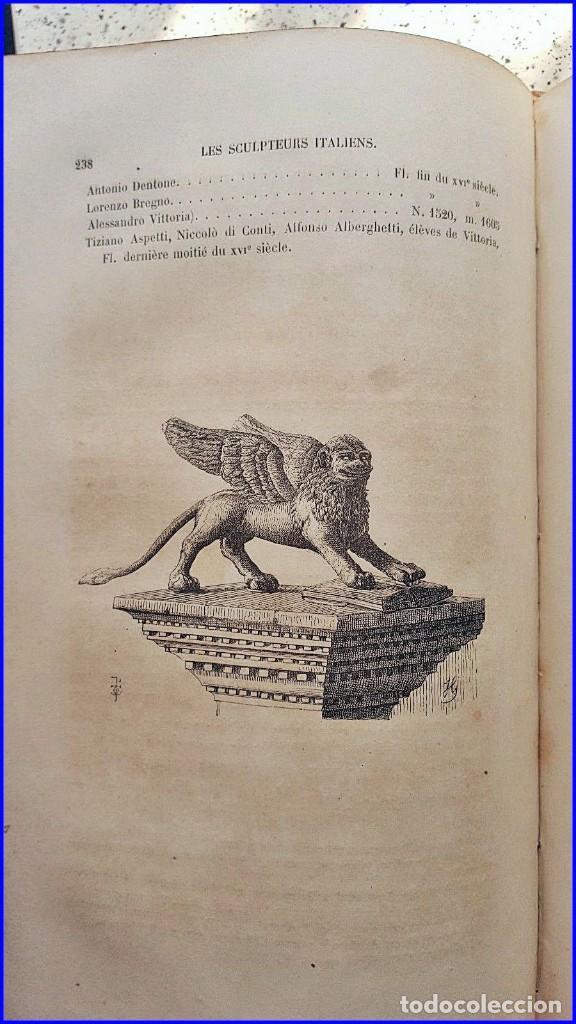 Libros antiguos: AÑO 1869: LOS ESCULTORES ITALIANOS. 2 ELEGANTES TOMOS DEL SIGLO XIX - Foto 8 - 129132691