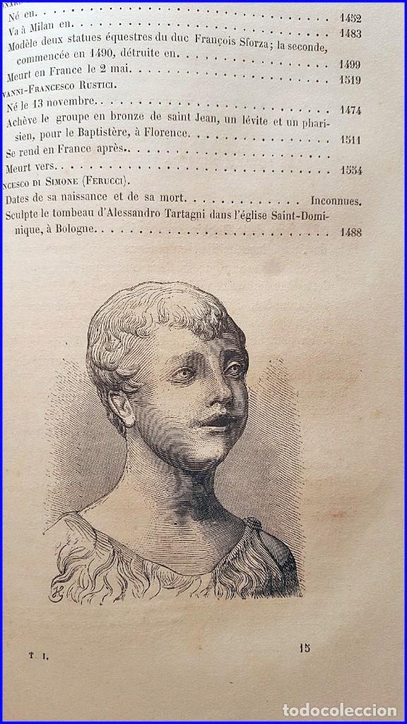 Libros antiguos: AÑO 1869: LOS ESCULTORES ITALIANOS. 2 ELEGANTES TOMOS DEL SIGLO XIX - Foto 11 - 129132691