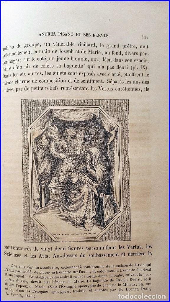 Libros antiguos: AÑO 1869: LOS ESCULTORES ITALIANOS. 2 ELEGANTES TOMOS DEL SIGLO XIX - Foto 12 - 129132691