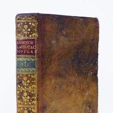 Libros antiguos - APÉNDICE A LA EDUCACIÓN POPULAR. Parte Tercera. Madrid, imprenta de D. Antonio de Sancha, 1776 - 129200195