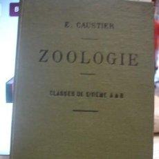 Libros antiguos: ZOOLOGIE CLASSES DE SEXIEME A&B E. CAUSTIER - PORTAL DEL COL·LECCIONISTA *****. Lote 129240675
