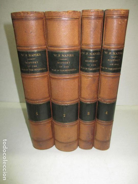 Libros antiguos: HISTORY OF THE WAR IN THE PENINSULA AND IN THE SOUTH OF FRANCE... 1839-40. - Foto 1 - 114799014