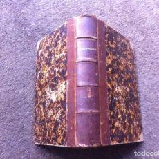 Libros antiguos: CURSO DE PALEONTOLOGÍA DE LA ESCUELA DE MINAS.. Lote 129250743