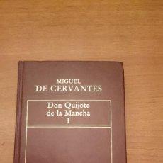 Libros antiguos: LIBRO MUGUEL DE CERVANTES - DON QUIJOTE DE LA MANCHA 1--. Lote 129255579