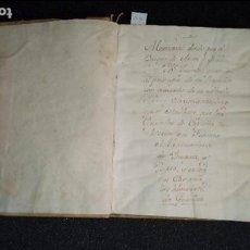 Libros antiguos: EQUIVALENCIAS DE TÍTULOS EN EUROPA. ESPAÑA DE FINALES DEL XVII. MANUSCRITO.. Lote 129339527